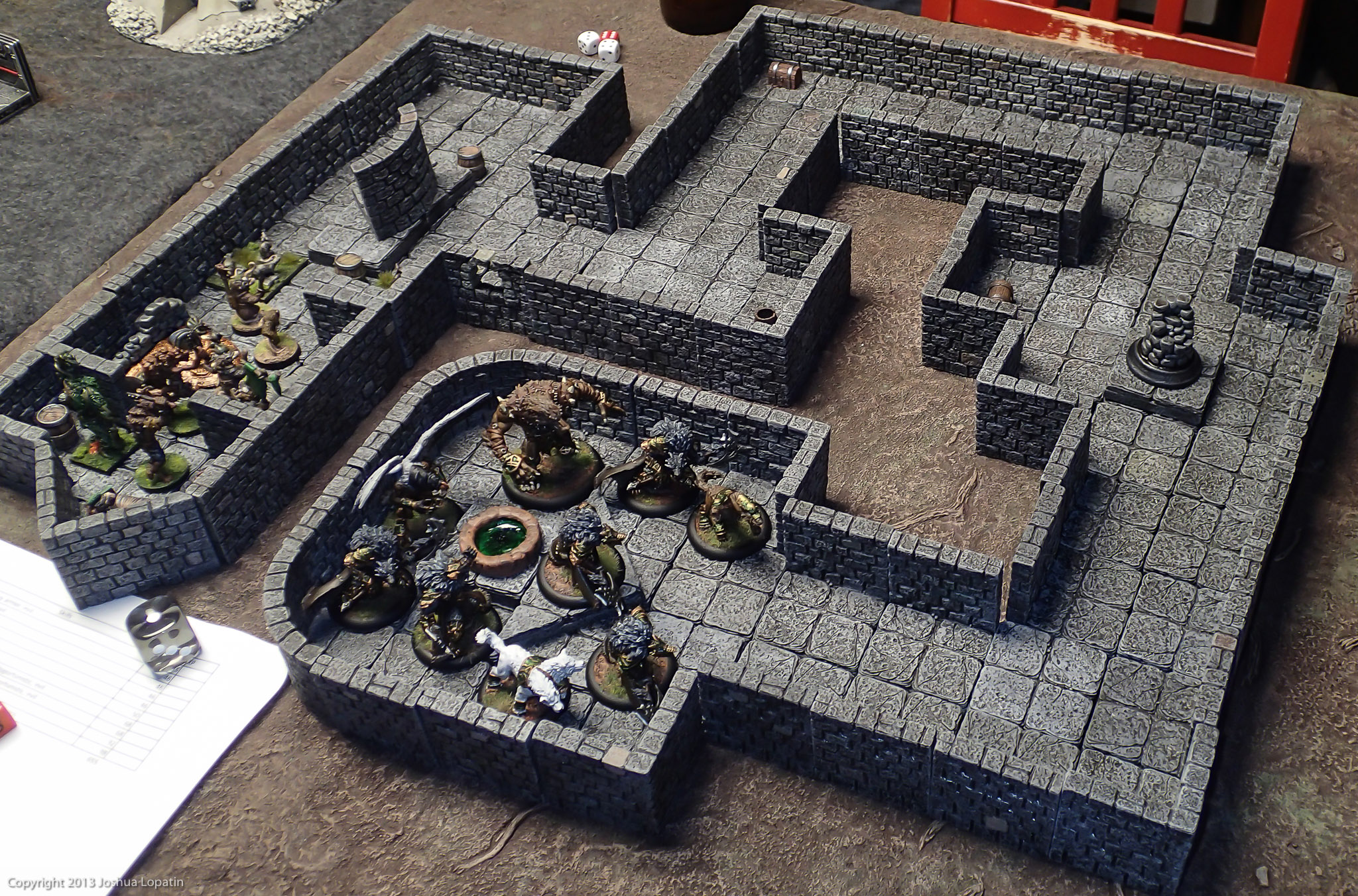Exploring The Underworld With Dwarven Forge Game Tiles