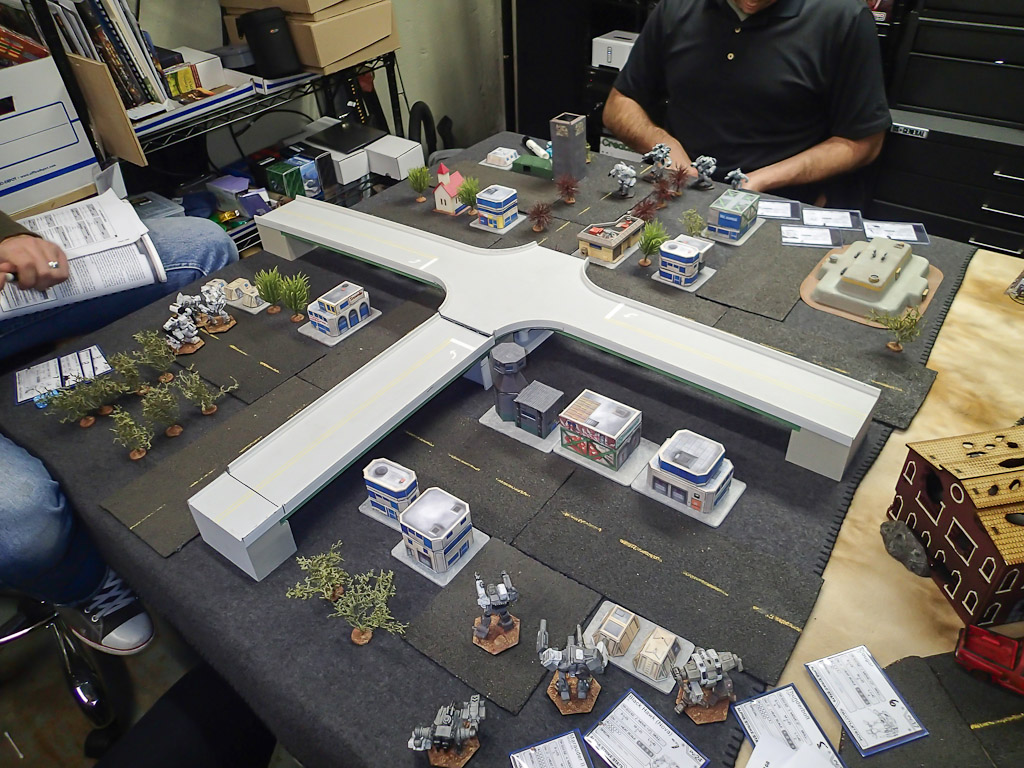 First game of battletech alpha strike pics and for 13 ka table